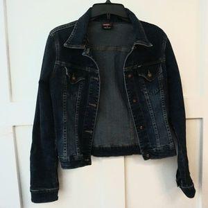 Angel Dark Blue Denim Jacket Made In USA Size S